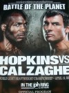 Joe Calzaghe vs Bernard Hopkins RARE DUAL SIGNED Official Onsite Programme