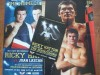 Ricky Hatton vs Juan Lazcano Official Onsite Programme Plus Commemorative Double Sided Poster