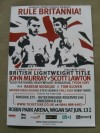John Murray vs Scott Lawton Official Onsite Programme SIGNED By British Welterweight And Potential World Champion Kell Brook