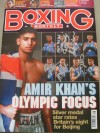 Olympic Beijing 2008 Boxing Team GB Multi SIGNED Boxing Monthly Magazine