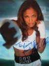 Laila SHE BEE STINGIN Ali INSCRIBED And SIGNED Stunning Photo