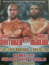 Chris Byrd Former WBO And IBF World Heavyweight Champion SIGNED Official Onsite Programme Featuring Lance Whitaker vs Jameel McCline