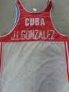 Jorge Luis Gonzalez Amateur Boxing Vest WORN In Various International Tournaments Whilst Representing His Country