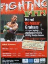 Herol Graham 3 Time World Title Challenger SIGNED Personal Fitness Flyer