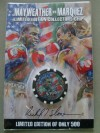 Floyd Mayweather Jr vs Juan Manuel Marquez Commemorative Limited Edition Of Only 500 Collectors Chip
