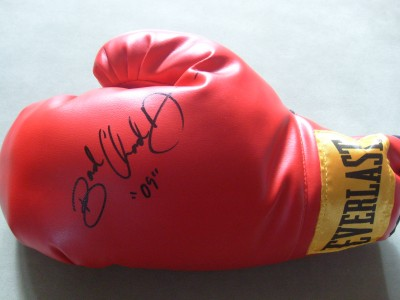 BAD Chad Dawson Light Heavyweight World Champion SIGNED And DATED  Everlast Glove