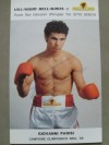 Giovanni Parisi Former WBO Lightweight And Light Welterweight World Champion SIGNED Promotional Photo