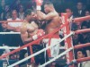 Oliver McCall Former WBC World Heavyweight Champion SIGNED  Action Shot Photo Against Larry Holmes