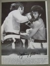 Jimmy Ellis Former WBA Heavyweight Champion 1968 to 1970  SIGNED Original Wirephoto Against George Chuvalo