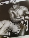 George Benton Hall Of Fame Trainer And Top Rated Middleweight In His Day SIGNED Action Shot Photo