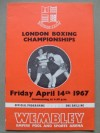 London Amateur Boxing Championships Featuring Joe Bugner And Chris Finnegan Official Onsite Programme