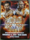 Manny Pacquiao vs Miguel Cotto Official Onsite Programme SIGNED By Manny Pacquiao