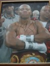 Zab Judah 2 Weight World Champion SIGNED And INSCRIBED Victory Celebration Photo