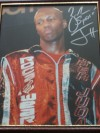 Zab SUPER Judah 2 Weight World Champion SIGNED And INSCRIBED Photo