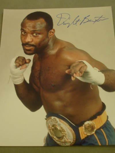 Dwight Muhammad Qawi Former 2 Weight World Champion And Hall Of Famer SIGNED Boxing Pose Photo