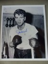 Joe Miceli Former 1950s Welterweight Contender Fought 12 World Champs Yet Never Got A Title Shot SIGNED Photo