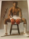 Julian Jackson Former 2 Weight World Champion And Considered To Be One Of The Hardest Punchers Of All Time SIGNED Photo