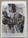 Archie Moore Former Light Heavyweight World Champion And Iconic Boxing Legend SIGNED Laser Wirephoto