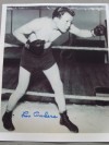 Lou Ambers THE HERKIMER HURRICANE Former 1930s Lightweight World Champion And Hall Of Famer SIGNED Training Shot Photo