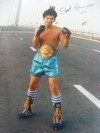 Sot Chitalada Former 2 X WBC Flyweight Champion Who Also Defeated Charlie Magri SIGNED Photo