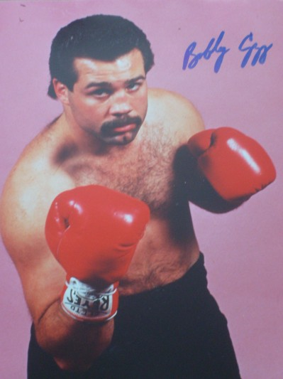 Bobby Czyz Former Light Heavyweight And Cruiserweight World Champion SIGNED Boxing Pose Photo