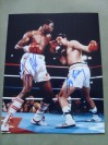Larry Holmes And Gerry Cooney DUAL SIGNED WBC Heavyweight Title Action Shot Photo