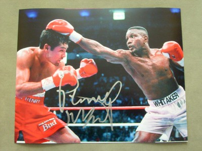 Pernell Sweet Pea Whitaker Who Is Considered Amongst The Greatest P4p Of All Time Signed Action Shot Photo Against Oscar De La Hoya further Tim Bradley Wins In Split Decision Over in addition El Inocente Chiste De Boxeo Que Debes Contarle A Tus Hijos Video moreover Benz 0506a14 together with Javier Chicharito Hernandez Gol Stoke City. on oscar de la hoya vs julio cesar chavez 2
