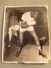 Kid Gavilan SIGNED And DATED 2 Days Before He Fought Sugar Ray Robinson For The World Welterweight Title Vintage Studio Photo