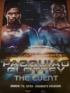 Manny Pacquiao vs Joshua Clottey Official Onsite Poster