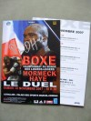 David Haye vs Jean Marc Mormeck Official Onsite Programme Plus Official Bout Sheet SIGNED By Current WBA Heavyweight Champion David Haye