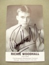 Richie Woodhall Former WBC Super Middleweight World Champion SIGNED Promotional Photo
