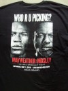 Floyd Mayweather Jr vs Shane Mosley Official Onsite Tee Shirt
