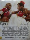 Mayweather vs Mosley LIMITED EDITION Commemorative Onsite Poster SIGNED By One of The Worlds Most Sought After Up And Coming Artist Richard T Slone