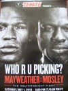Floyd Mayweather Jr vs Shane Mosley Tecate Fight Poster