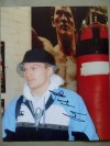 Ricky Hatton SIGNED Exclusive Photo Prior To His Fight With Floyd Mayweather Jr