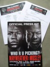 Floyd Mayweather Jr vs Shane Mosley Official Press Pack