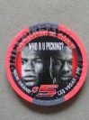 Floyd Mayweather Jr vs Shane Mosley  MGM Grand Commemorative Limited Edition Gaming Chip