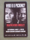 Floyd Mayweather Jr vs Shane Mosley LIMITED EDITION MGM Grand Room Key