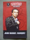 Juan Manuel Marquez 3 Weight World Champion SIGNED Tecate Sponsored Photo Image