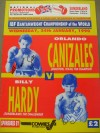 Orlando Canizales vs Billy Hardy I World Bantamweight IBF Title DUAL SIGNED Official Onsite Programme