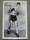 Jack Gardner Former British And Commonwealth And European Heavyweight Champion SIGNED And INSCRIBED Photo