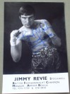 Jimmy Revie Former British Featherweight Champion SIGNED Promotional Photo