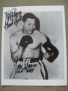 Jose Torres Former WBC And WBA Light Heavyweight World Champion And Hall of Famer SIGNED And INSCRIBED Also DATED Boxing Pose Photo