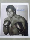 Emile Griffith Former 2 Weight World Champion And Hall Of Famer SIGNED Boxing Pose Photo