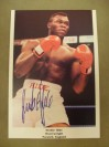 Herbie Hide Former 2 x WBO Heavyweight World Champion SIGNED Promotional Photo