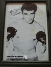 John YOUNG McCormack Former British Light Heavyweight Champion SIGNED Boxing Pose Image