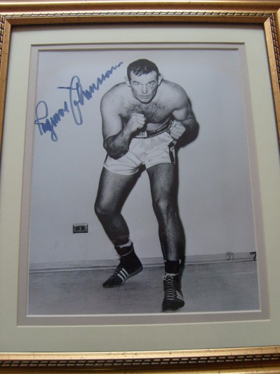 Ingemar Johansson SIGNED Photo