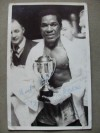 Roy Ankrah Former Commonwealth Featherweight Champion From Ghana SIGNED And INSCRIBED Vintage Photo