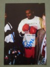 Chris Johnson Former 92 Olympic Middleweight Bronze Medallist Who Fought Herol Graham And Antonio Tarver SIGNED And INSCRIBED Photo