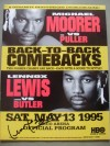 Lennox Lewis vs Lionel Butler Official Onsite Programme SIGNED And DATED By Former Undisputed Heavyweight Champ And Hall Of Famer Lennox Lewis